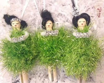 Beautiful Peg dolls
