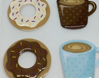 Doughnut Stickers