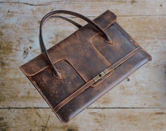 "Leather laptop bag MacBook Pro 15"" case Leather laptop sleeve Leather messenger bag Leather laptop case Portfolio case Portfolio bag"