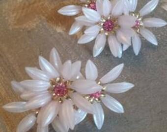 vintage 1950s Coro earrings