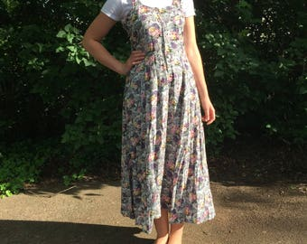 90's Style Floral Dress