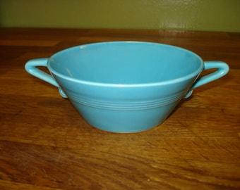 Homer Laughlin Harlequin Cream Soup Bowl