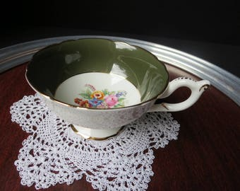 Coalport Made in England Bone China Teacup Footed Pedestal Cup