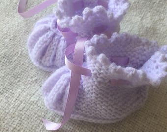 Lovely in lilac bootees