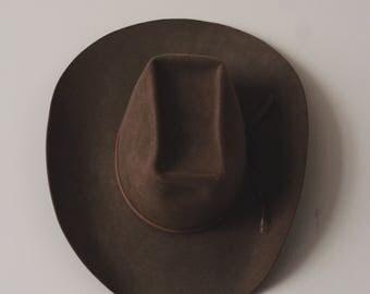 Resistol Self Conforming XXX Beaver Felt Hat