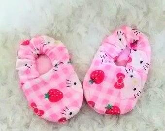 Baby Girl Hello Kitty Fabric Baby Shoe