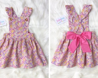 Ava Pinafore dress (Pinny dress)