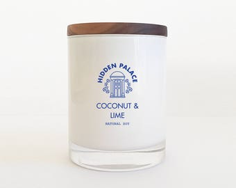 Coconut & Lime | Soy Candle