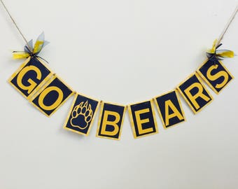 Go Bears-University of California Garland