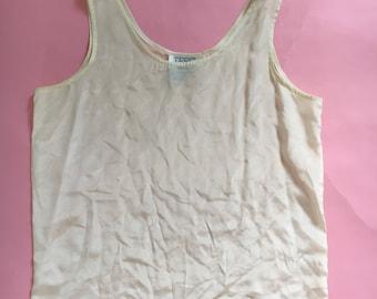 Vintage Tess silk blouse