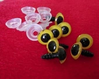 8 amigurumis 10mm safety eyes
