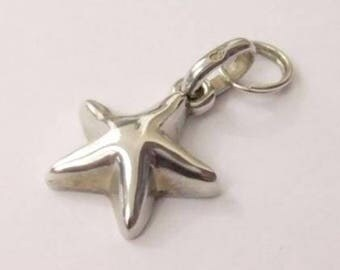 Authentic Links of London Sterling Silver Seaside Star Fish Sweetie Charm
