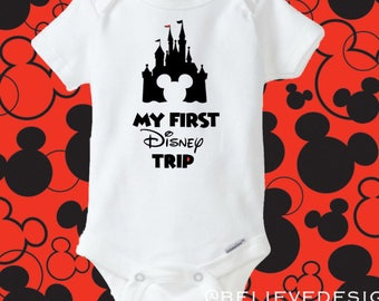Disney outfit Disney Shirts Disney Onesie first Disney trip Onesie Disney trip bodysuit baby boy outfit Mickey mouse onesie best day ever