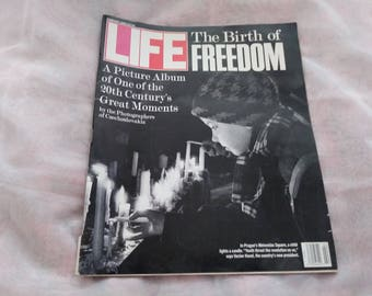 Life Magazine February 1990 The Birth of Freedom -- DreamscapesByCyn