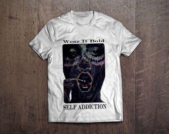 Self Addiction designer men's t-shirt
