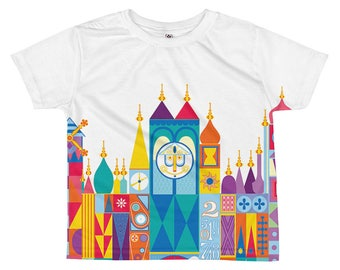 IT'S A SMALL WORLD Little Kids TShirt (Front)