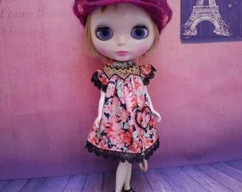 Blythe Smocked outfit, Smocking Dress, Blythe dress