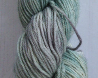 """DK """" Frosted Leaf """" hand dyed yarn."""