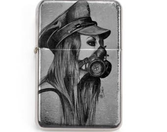 Exclusive Lighter - Tattoo Girl  -  EDC