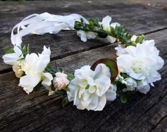 Handmade Hair Flower Wreaths / Flower Crowns