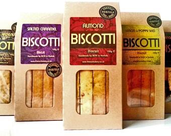 Artisan Almond Biscotti (Vegan)