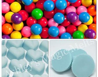 Bubblegum wax melts, sweet wax melts, bakery wax, cheap wax melts, strong wax melts, wax melt tarts, soy wax melts, scented wax melts