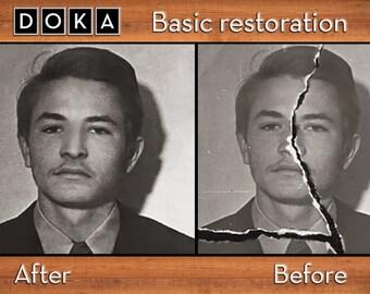 Advanced Photo Restoration - Photo Manipulation - Damaged Photo Repair - Photo Editing - Photo Retouching - Vintage repair