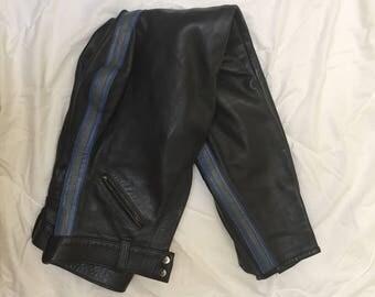Leather Pants custom made, vintage 70's