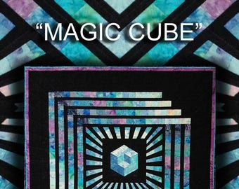 Magic Cube Quilt Pattern Digital File Download
