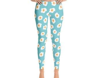 Fried Egg Leggings - Yoga Pants - Fancee Pants Co.