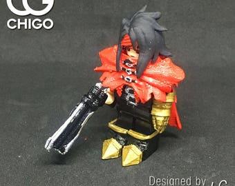 Chigo Lego custom minifigure Final Fantasy VII FF7 Vincent