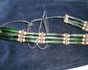 Chocker Necklace, Native American beaded necklace, boho, bohemian, burning man, festival necklace