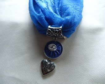 Midnight Blue scarf accessory