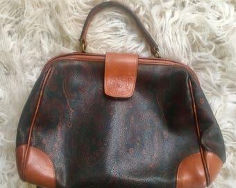 Smithsonian Vintage Paisley Handbag
