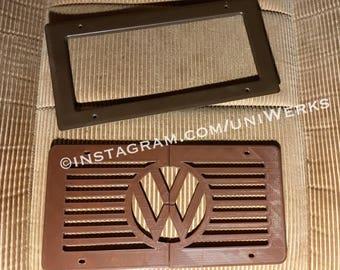 Vanagon Westfalia Full Camper Rear Heater Cover Plate