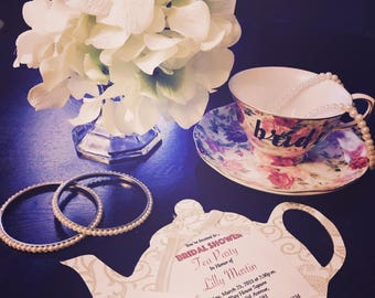 Tea Time with the Bride