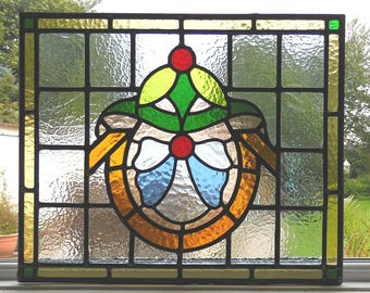 Stained Glass Panel REF SG244