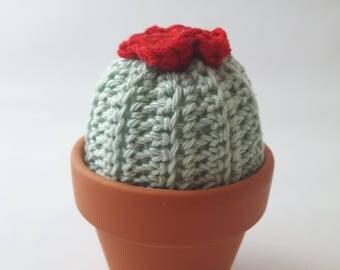 Cactus Faux cactus woolen Cactus pot, Art Deco cactus amigurumi crochet