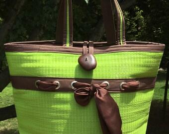 Samantha Tote, Custom Tote, Market Bag, Beach Bag, Carryall