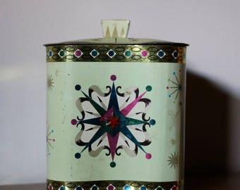 Vintage Baret Ware Lidded Tin
