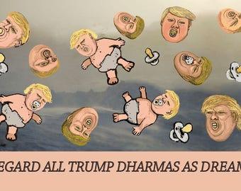 T-shirts of Trump Slogans