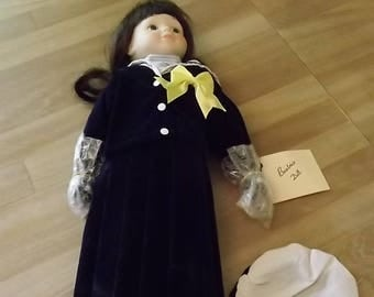 Suzy Sailor type poreclain doll