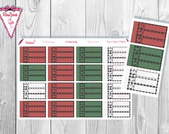 Plaid Checklists - Half Boxes