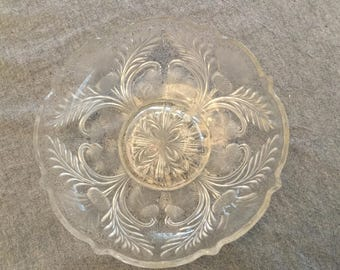 Antique Thistle Pattern Bowl