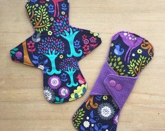 "8"" Cloth Menstrual Pad Medium"