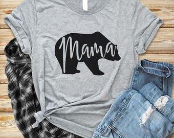 Mama Bear Shirt, Mama Bear Unisex T-Shirt