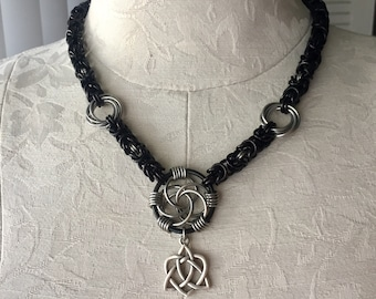 Intricate Chainmaille Necklace