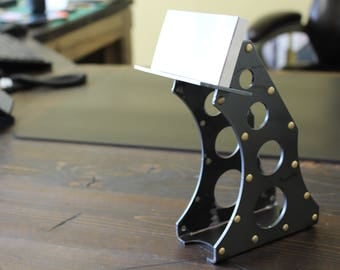 Metal Riveted Business Card Holder