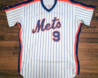 Gregg Jefferies Authentic Game Issued New York Mets Jersey 1990 MLB Vintage Rawlings 44 L