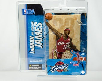 McFarlane's Series 7 Lebron James 2nd Edition Action Figure Cleveland Cavaliers